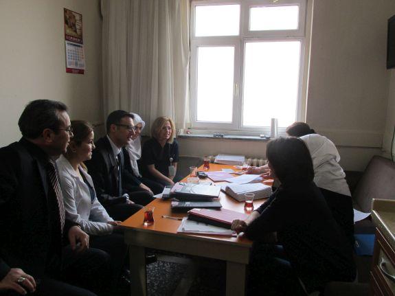 Dr.Faruk Sükan Doğum ve Çocuk Hastanesi'ni Ziyaret Ettik