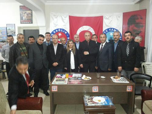 Hatay Milletvekili Sayın Şefik Çirkin'den Türkiye Kamu-Sen İl Temsilciliğimizi Ziyaret