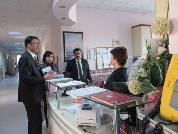 Eğitim Araştırma Hastanesi Ziyaretimiz