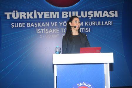 Sendikamız tarafından gerçekleştirilen TÜRKİYEM BULUŞMASI: 6. Şube Başkanları ve Yönetim Kurulları İstişare Toplantısı'nda  eğitim toplantıları da gerçekleştirildi.