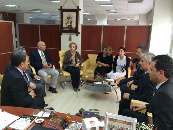 Genel Başkan Yardımcılarımız Abdurrahman Uysal ve Ümit Turhan Adana'yı ziyaret ederek teşkilatımız ve üyelerimizle bir araya geldiler.