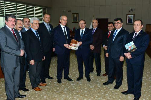 Mustafa Genç Manisa'yı Ziyaret Etti