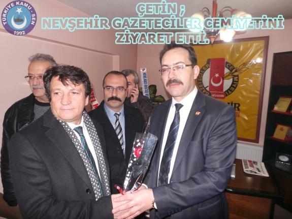Nevşehir Gazeteciler Cemiyetini Ziyaret Ettik