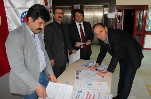Nevşehir' den İmza Kampanyasına Büyük Destek