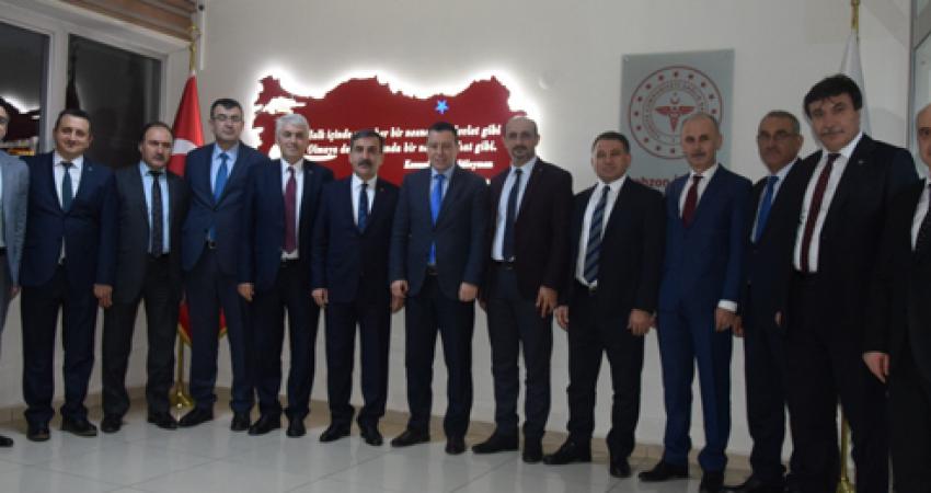 Trabzon'da Kurum İdarecileri İle Görüştük