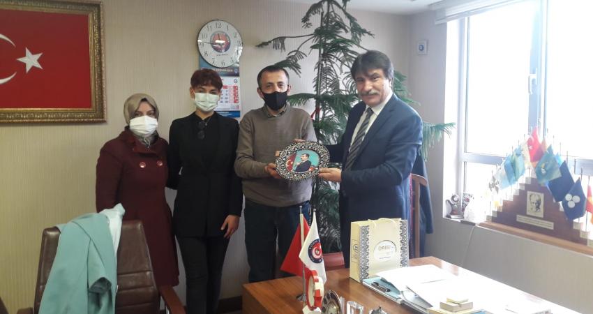 Atanamayan Sağlık Teknisyenleri Sendikamızı Ziyaret Etti