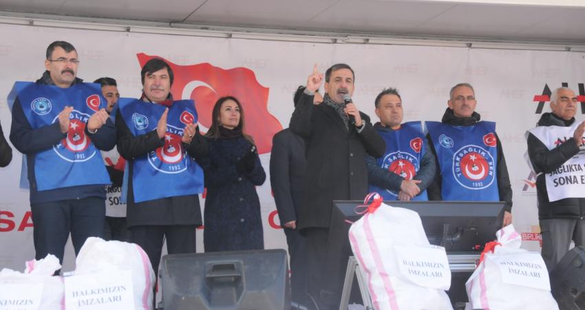 Genel Başkan Kahveci: Sağlıkta Şiddete Çözüm İstiyoruz Çözüm