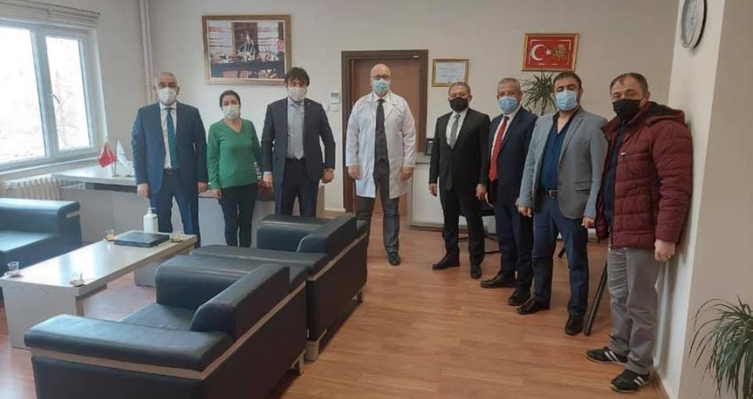 Eskişehir'de Osmangazi Üniv. Yöneticileri İle Görüştük.