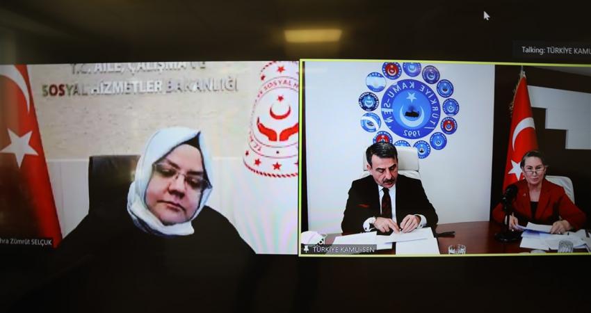 Kadın Komisyonları İstişare Toplantımız Çalışma Bakanı Zehra Zümrüt Selçuk'un Katılımıyla Gerçekleştirildi