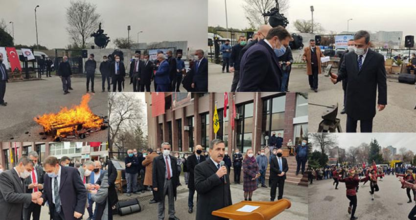 Ankara PTT Başmüdürülüğü'nde Nevruz Coşkusu