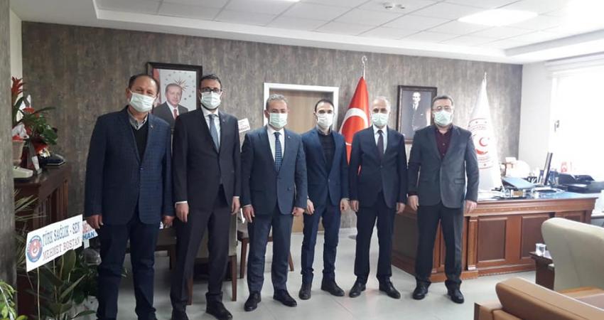 Burdur'da Kurum Yöneticileri İle Görüştük