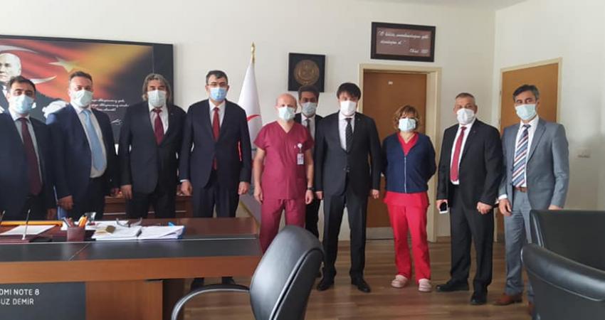 Eskişehir'de Kurum Yöneticileri İle Görüştük