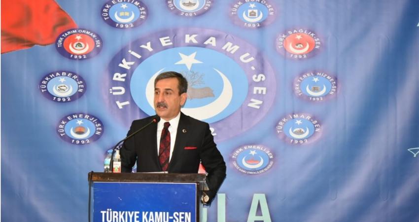 Türkiye Kamu-Sen Muğla Bölge İstişare Toplantısı Gerçekleştirildi