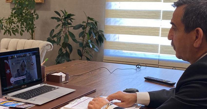 Genel Başkanımız Önder Kahveci Bakan Zehra Zumrut Selçuk İle Görüştü