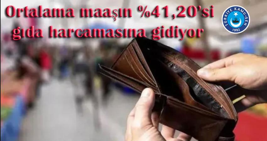 Genel Başkan Kahveci : Bayram İkramiyesi Talebimizin Hayata Geçmesi Zaruri Olmuştur.