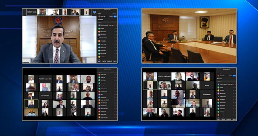 Başkanlar Kurulu Toplantımızı Telekonferansla Yaptık