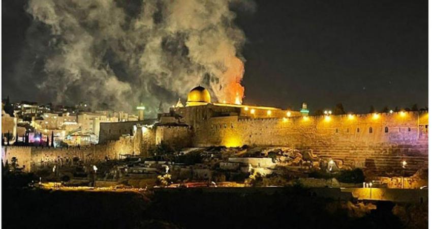 MESCİD-İ AKSA KUTSALIMIZ; İSRAİL TERÖR DEVLETİDİR