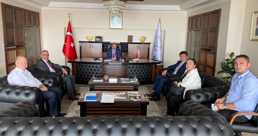 Zonguldak'ta Rektör Prof. Dr. Mustafa Çufalı İle Görüştük