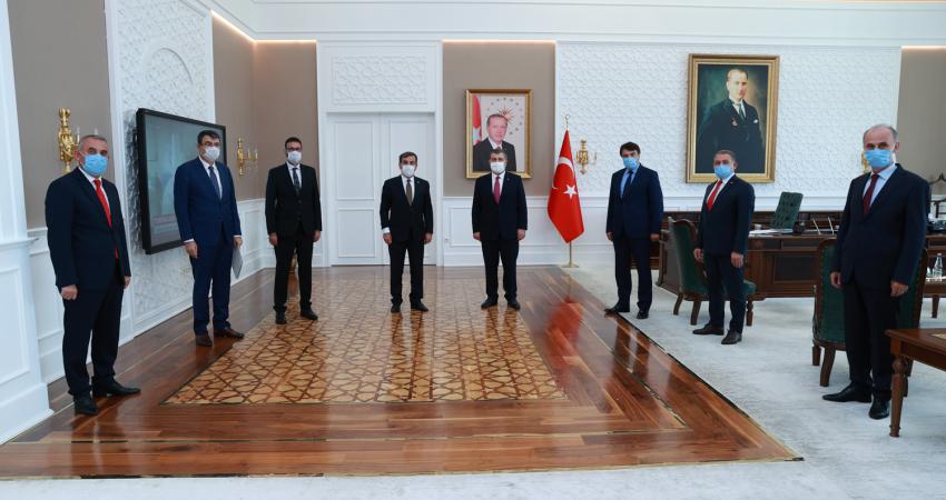 Sağlık Bakanı Sayın Dr. Fahrettin Koca'ya Sağlık Çalışanlarının Sorunlarını ve Taleplerini İlettik