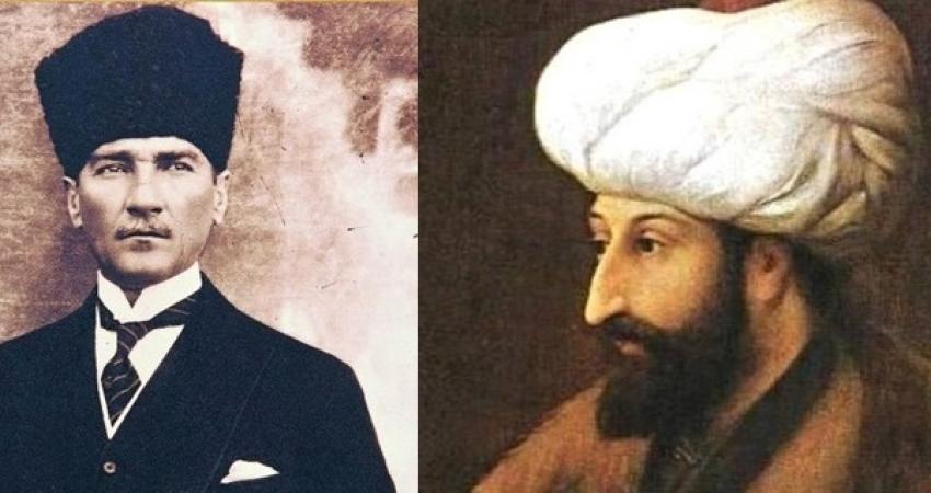 Fatih Çağları, Atatürk Tarihin Akışını Değiştiren İki Büyük Kahramandır