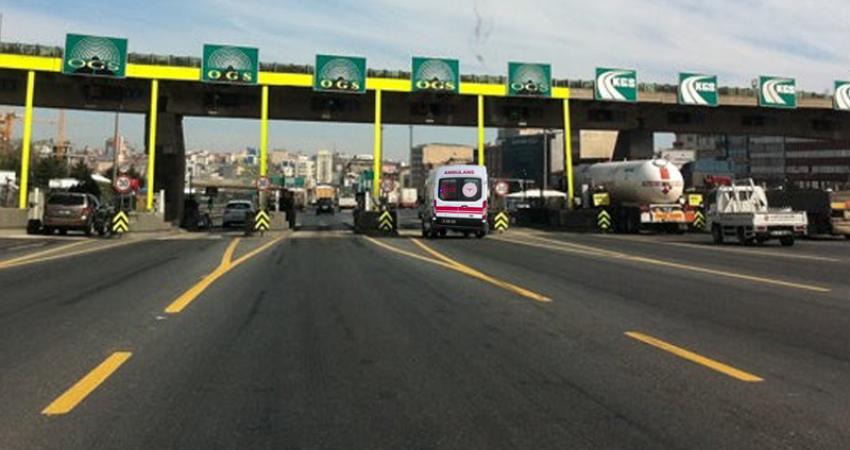 Ambulansların Köprü ve Otoyollardan Ücretsiz Geçişi İçin Başvurduk