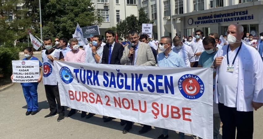 Bursa'da Baskı ve Mobbinge Karşı Tepki Gösterdik