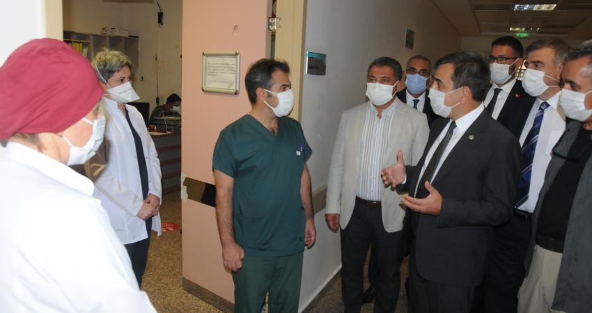 Şiddete Uğrayan Sağlık Çalışanlarını Ziyaret Ettik