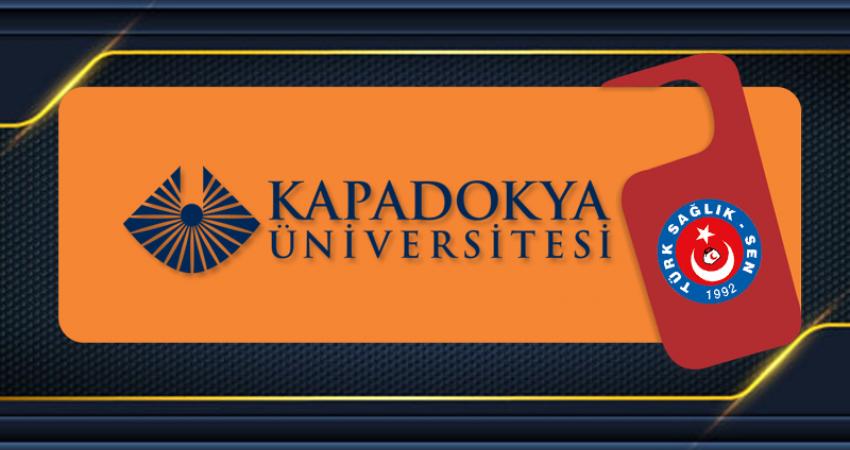Kapadokya Üniversitesi İle Yüksek Lisans Anlaşması Gerçekleştirdik