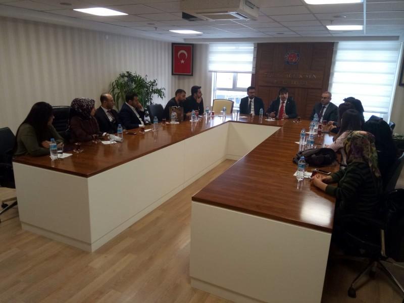 Diplomalı Tıbbi Sekreterler Derneği sendikamızı ziyaret ederek Genel Başkan Yardımcılarımızla görüştü.