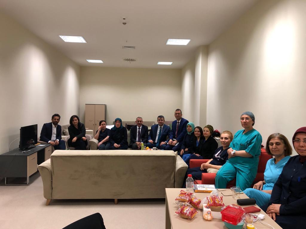 Genel Başkan Yardımcılarımız Ümit Turhan, Kenan Karaçam ve Mustafa Köse sendikal çalışmalar kapsamında Kayseri'yi ziyaret ettiler.