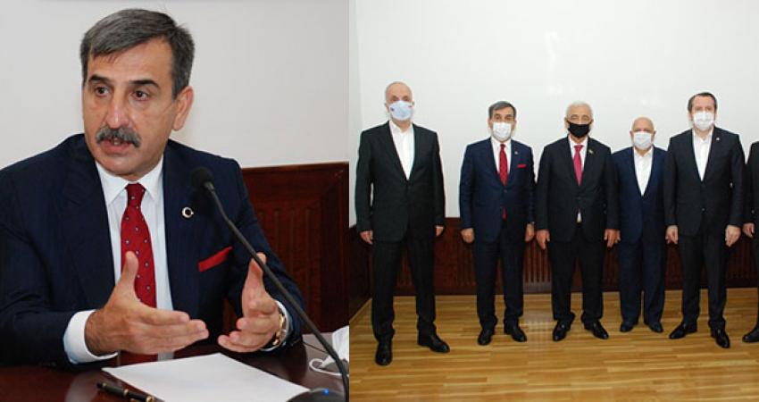 Türk Heyetinin Azerbaycan Ziyareti Sürüyor