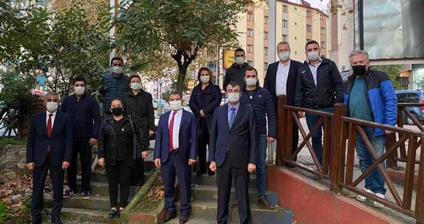 Zonguldak'ta Üniversite Yetkilileri İle Görüştük