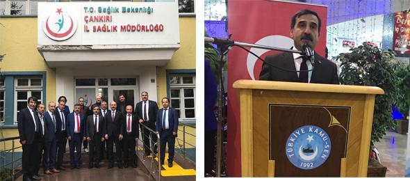 Genel Başkanımız Çankırı'yı Ziyaret Etti.