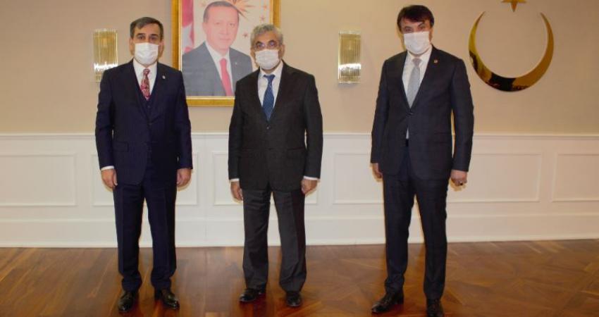 Genel Başkanımız Bakan Yardımcısı Prof. Dr. Sabahattin Aydın'ı Ziyaret Etti
