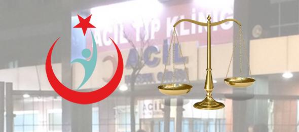 Türk Sağlık-Sen, Sağlık Bakanlığı'nın sağlık çalışanlarının 30 dakikada evden hastaneye gitmesini düzenleyen genelgenin iptali için Danıştay'a dava açtı.