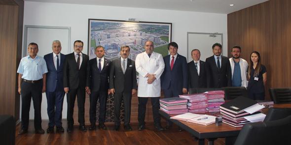 Ankara Şehir Hastanesi Başhekimini Ziyaret Ettik