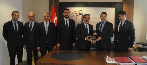 Genel Başkanımız Önder Kahveci ve Genel Başkan Yardımcılarımız Sağlık Bakanlığı Acil Sağlık Hizmetleri Genel Müdürü Sayın Dr. Semih Korkut'u ziyaret etti.