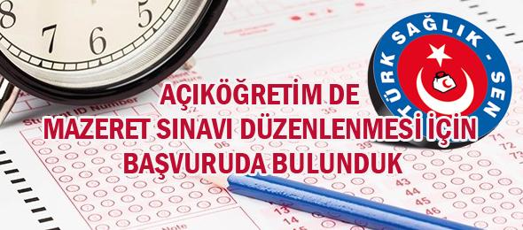 Sendikamızdan Anadolu Üniversitesine Başvuru