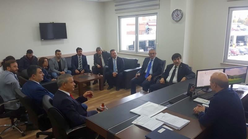 Genel Başkan Yardımcılarımız İsmail Türk, Kenan Karaçam ve Mustafa Köse sendikal çalışmalar kapsamında Eskişehir'i ziyaret ettiler.