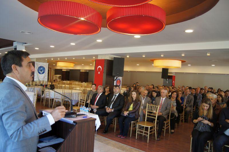 Genel Başkanımız Önder Kahveci sendikal çalışmalar kapsamında Balıkesir'i ziyaret ederek Balıkesir Şubemizin gerçekleştirdiği işyeri temsilcileri toplantısında katıldı.