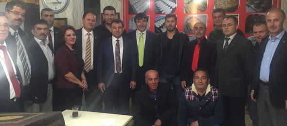 Burdur'da Üyelerimizle Buluştuk