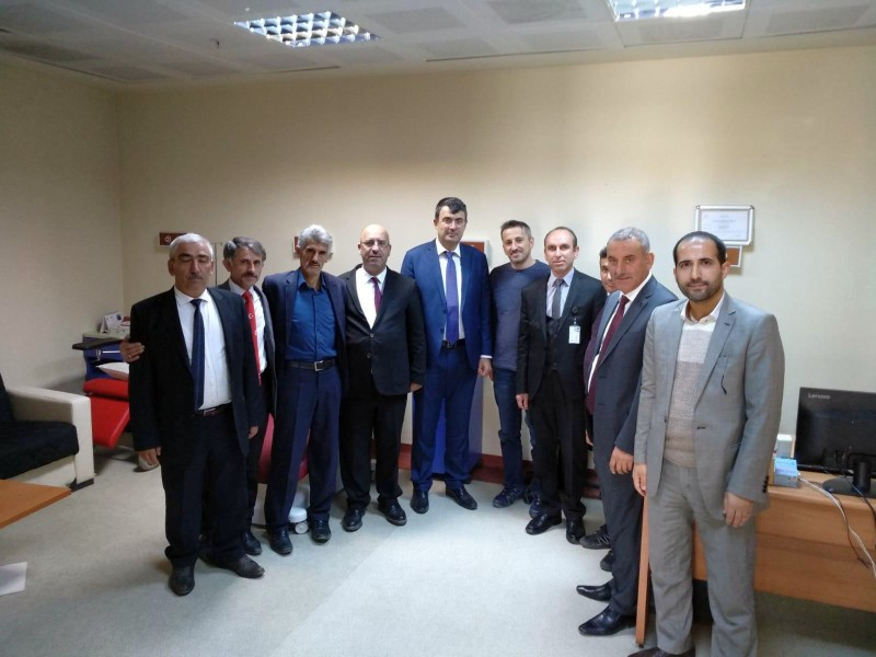 Genel Başkan Yardımcılarımız Kenan Karaçam ve Mustafa Köse sendikal çalışmalar kapsamında Ardahan'ı ziyaret ettiler.
