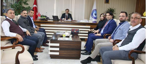 ATEKDER (Türkiye Ameliyathane Teknikerleri Derneği) Genel Başkanı Funda Aytaç ve Dernek Yönetim Kurulu Üyeleri Genel Başkanımız Önder Kahveci'yi ziyaret ettiler.