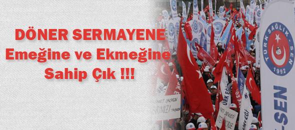 Döner Sermayeler İçin 5 Aralık'ta Tüm Türkiye'de Alanlardayız