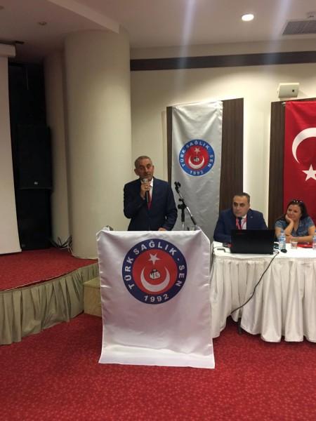 Genel Başkan Yardımcılarımız Ümit Turhan, Kenan Karaçam ve Mustafa Köse Manisa Şubemiz tarafından gerçekleştirilen İşyeri Temsilcileri toplantısına katıldılar.