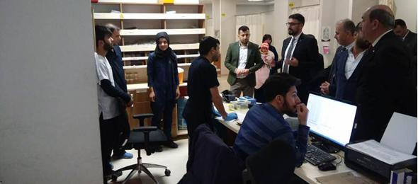 Genel Başkan Yardımcılarımız Hamza Olgun ve  Mustafa Yiğit sendikal çalışmalar kapsamında Şanlıurfa İlimizi ziyaret ettiler.
