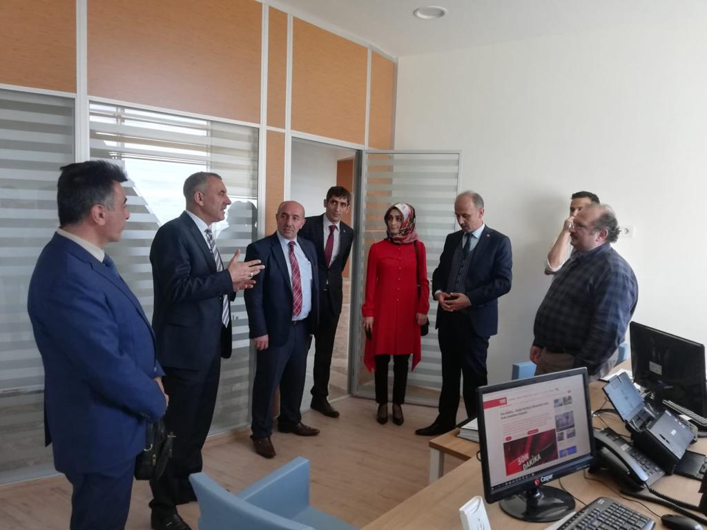 Genel Başkan Yardımcılarımız Kenan Karaçam ve Mustafa Yiğit sendikal çalışmalar kapsamında Erzurum'u ziyaret ettiler.