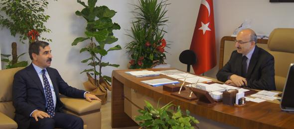 Ankara 3. Bölge Genel Sekreterini Ziyaret Ettik.