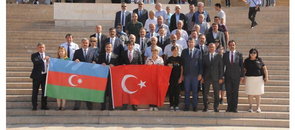 Azerbaycan Sıhhiye İşçileri Sendikası Teşkilatı  İle Bir Araya Geldik.
