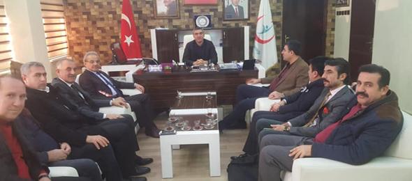 Genel Başkan Yardımcılarımız Kenan Karaçam ve Mustafa Köse sendikal çalışmalar kapsamında Diyarbakır İlimizi ziyaret ettiler.